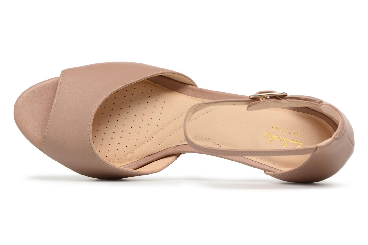 Mayra Dove Beige leather