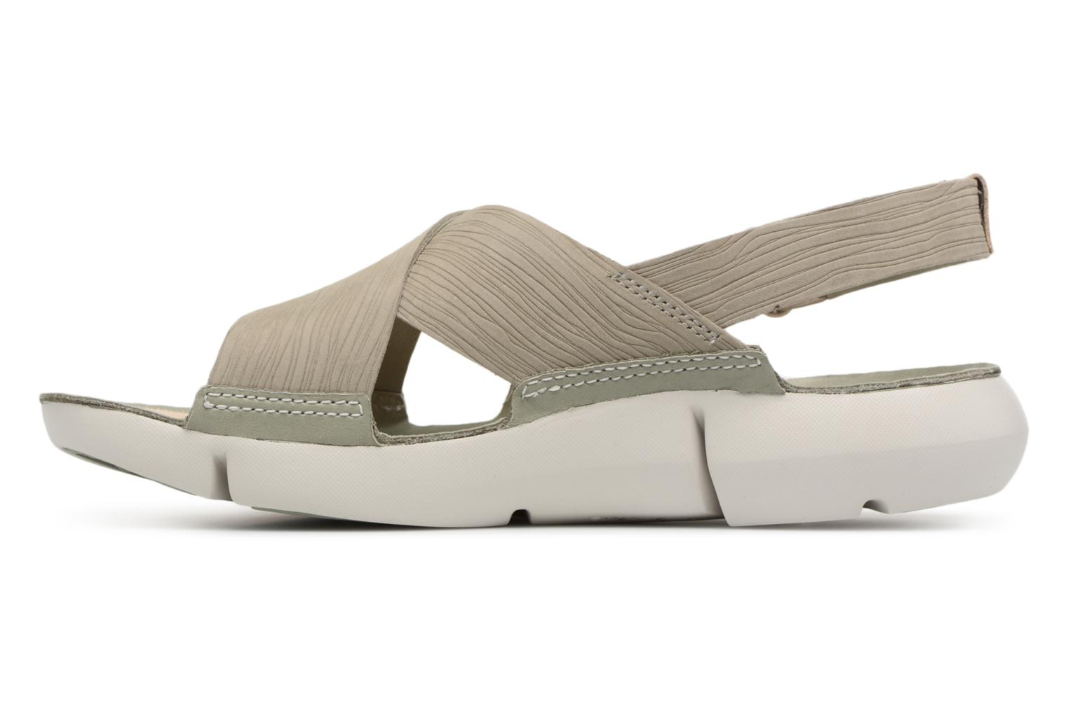 Sandals Clarks Tri Chloe Green front view