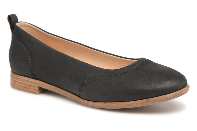 Grandes descuentos últimos zapatos Clarks Alice Ivy (Negro) - Bailarinas Descuento