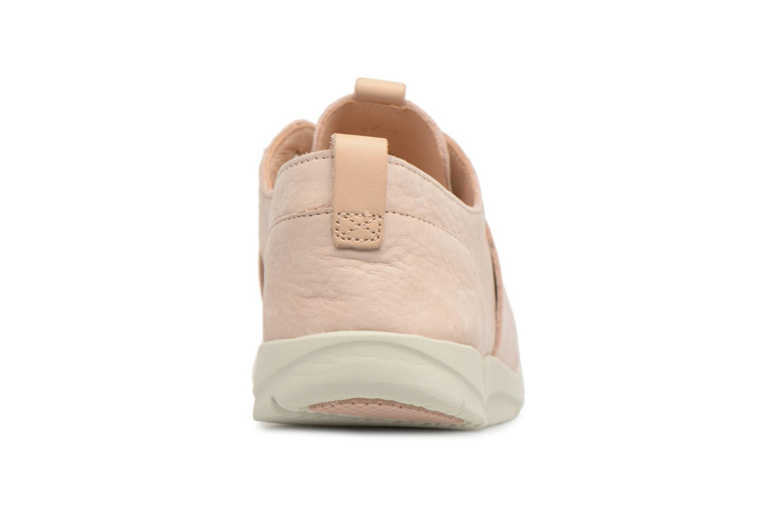 Trainers Clarks Tri Caitlin Beige view from the right