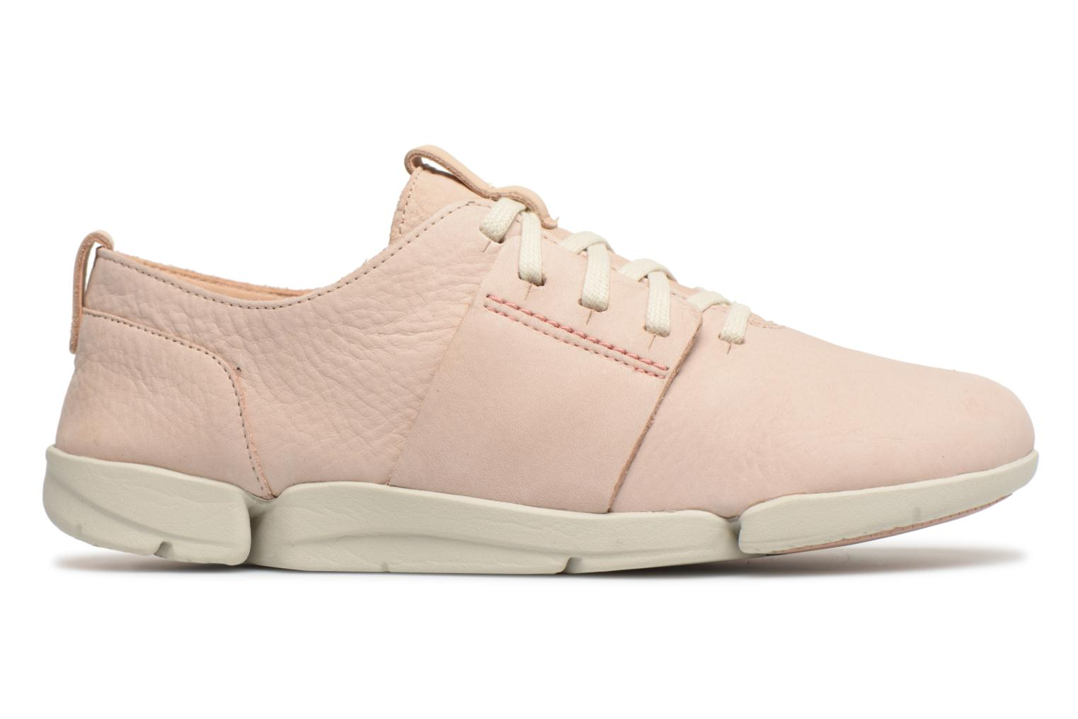 Trainers Clarks Tri Caitlin Beige back view