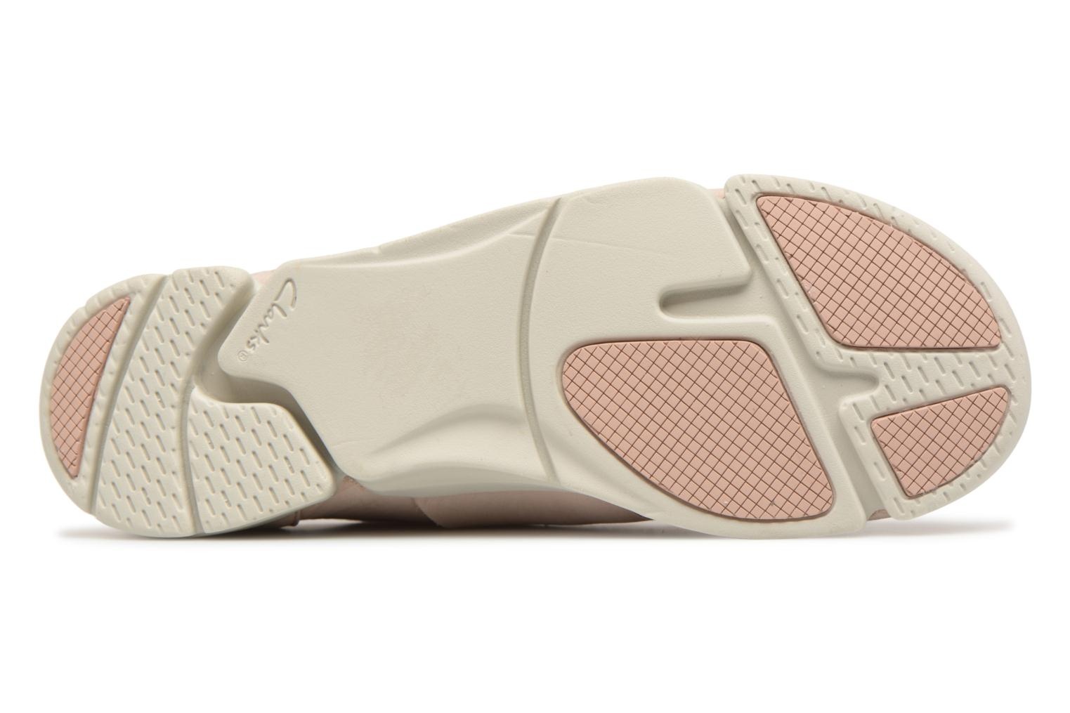 Trainers Clarks Tri Caitlin Beige view from above