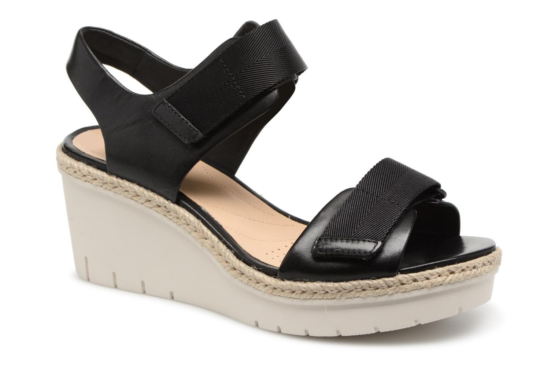Grandes descuentos últimos zapatos Clarks Palm Shine (Negro) - Sandalias Descuento