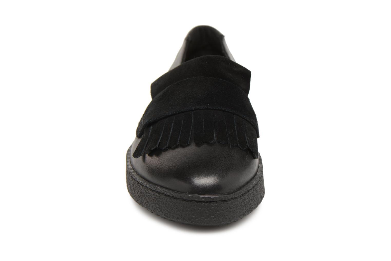Mocassins Clarks Lillia Lottie Noir vue portées chaussures