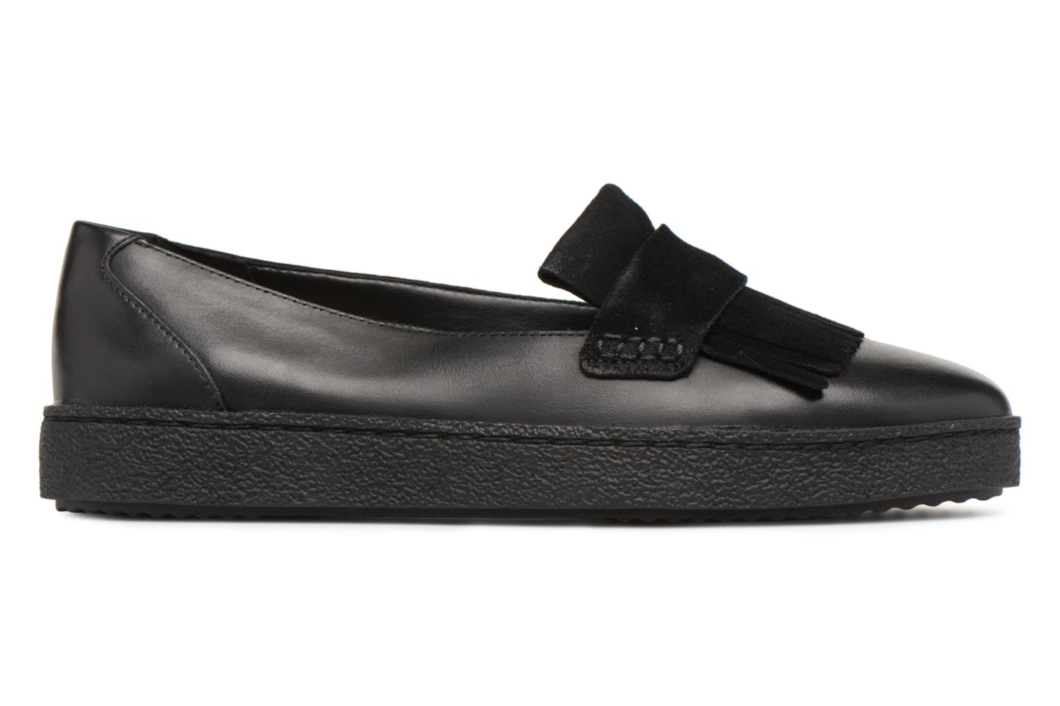 Loafers Clarks Lillia Lottie Black back view