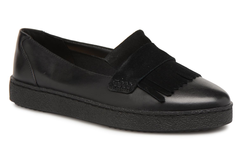 Clarks Lillia Lottie Noir - Chaussures Mocassins Femme