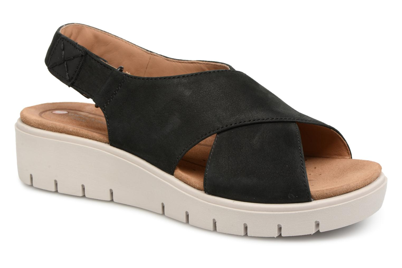 Zapatos promocionales Clarks Un Karely Hail (Negro) - Sandalias   Gran descuento