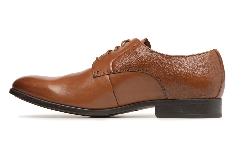 Chaussures à lacets Clarks Gilmore Lace Marron vue face
