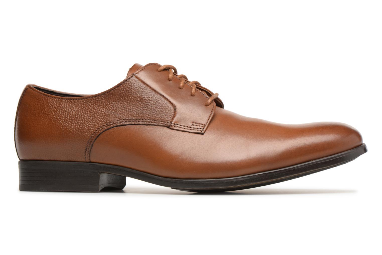 Chaussures à lacets Clarks Gilmore Lace Marron vue derrière