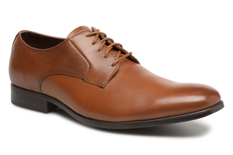 Chaussures à lacets Clarks Gilmore Lace Marron vue détail/paire