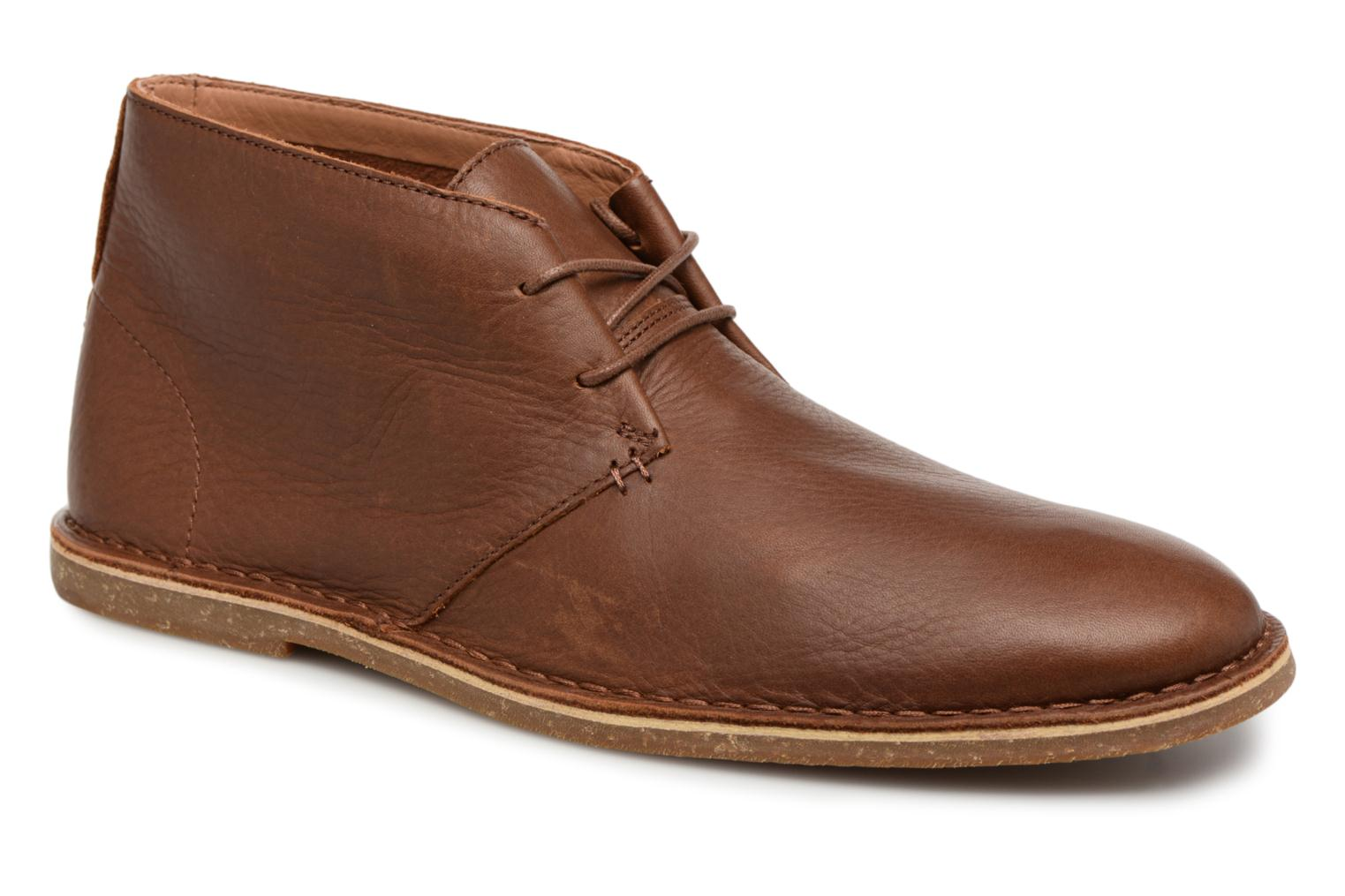 Clarks Baltimore Mid (Marron) - Bottines et boots chez Sarenza (320139)