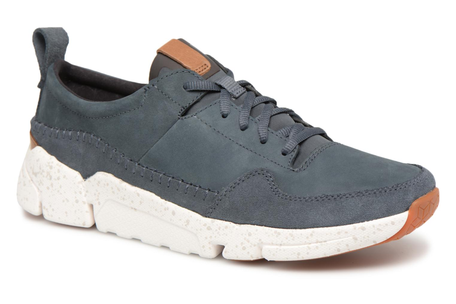 Marques Chaussure homme Clarks homme TriActive Run Blue nubuck