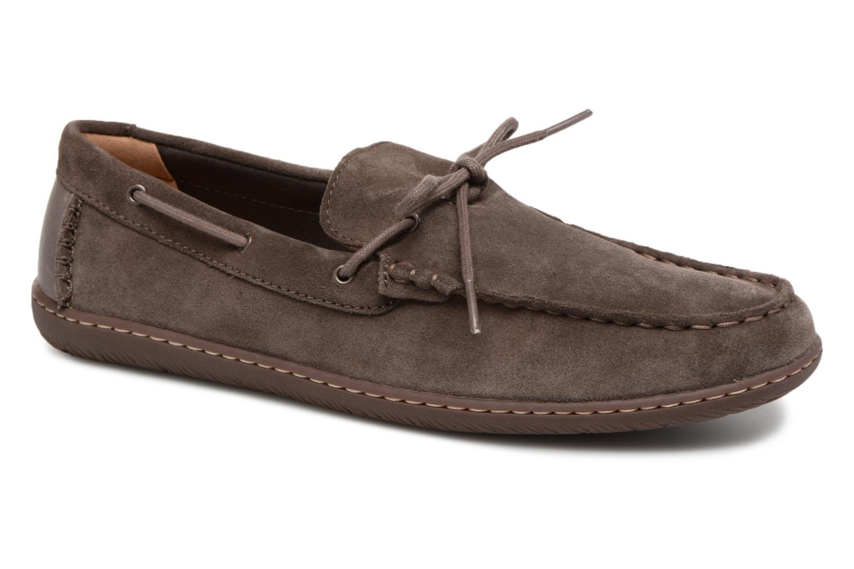 Clarks Saltash Edge (Gris) - Chaussures à lacets chez Sarenza (325880)