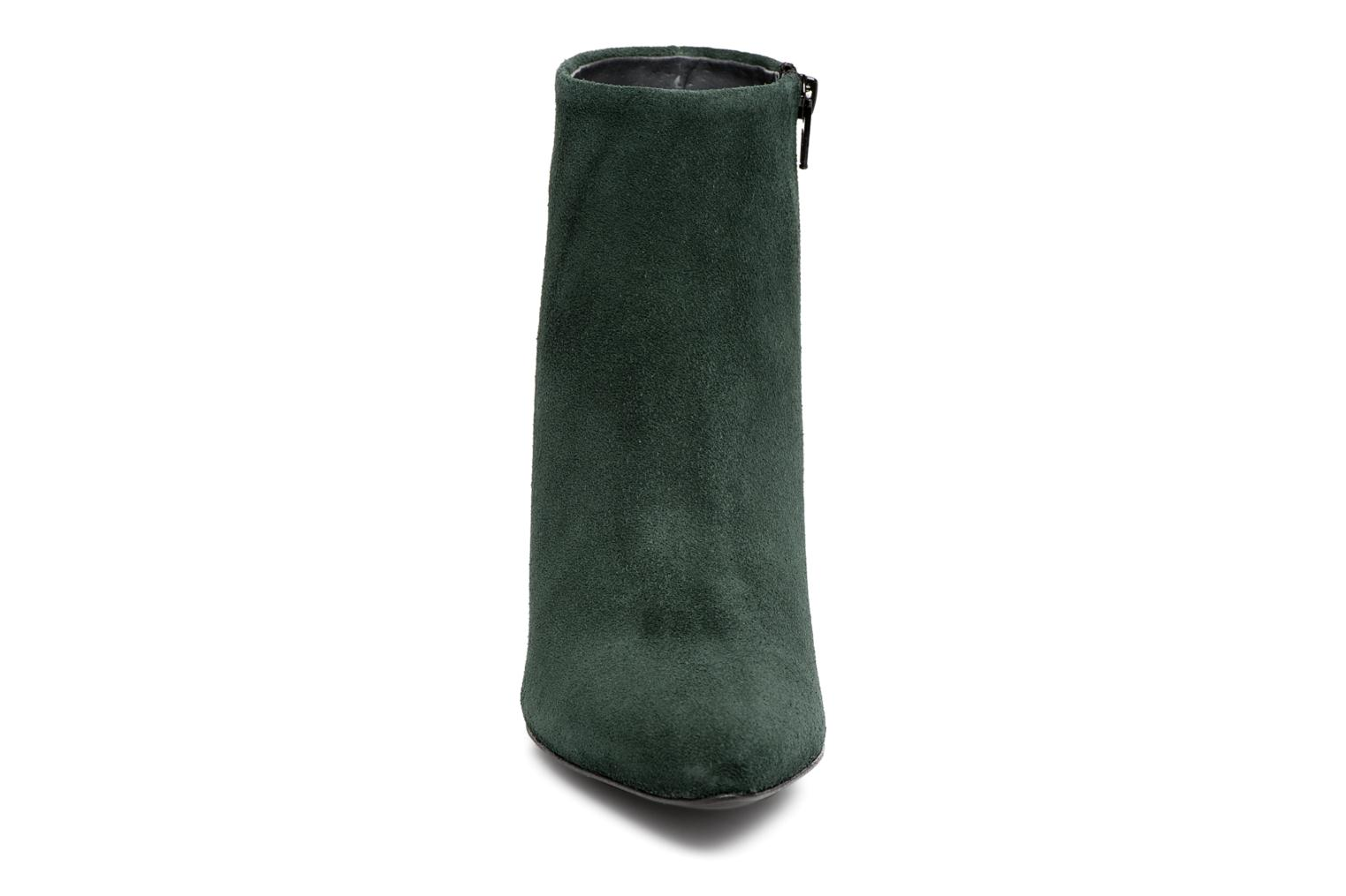 Ankle boots Vero Moda ASTRID LEATHER BOOT Green model view