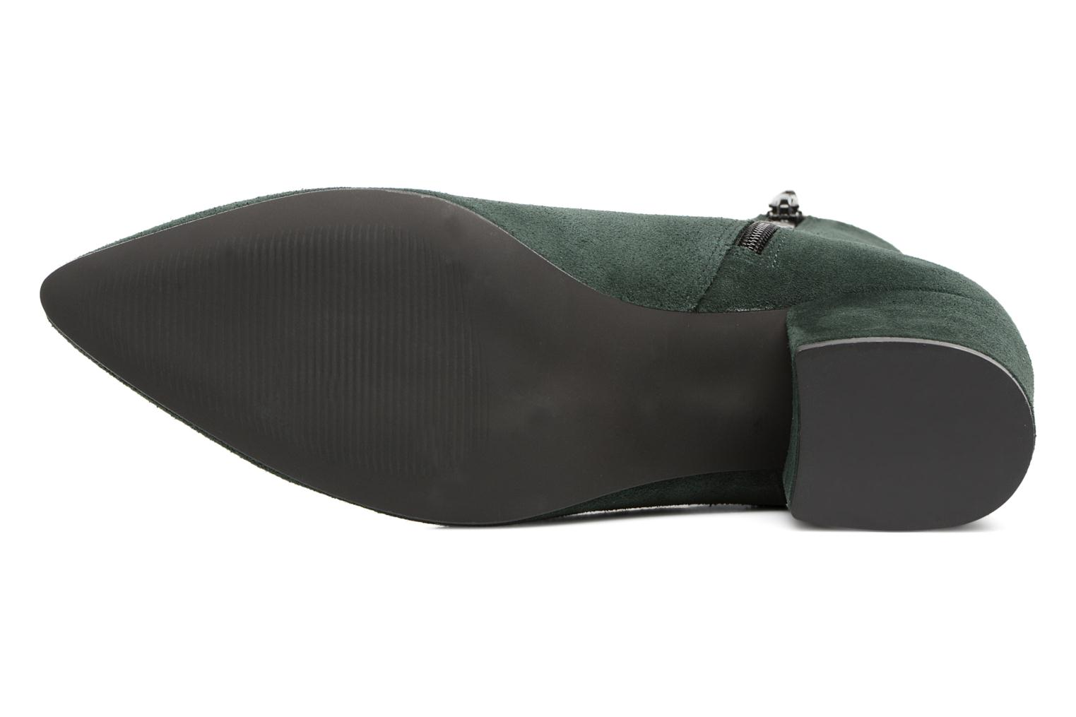 Ankle boots Vero Moda ASTRID LEATHER BOOT Green view from above