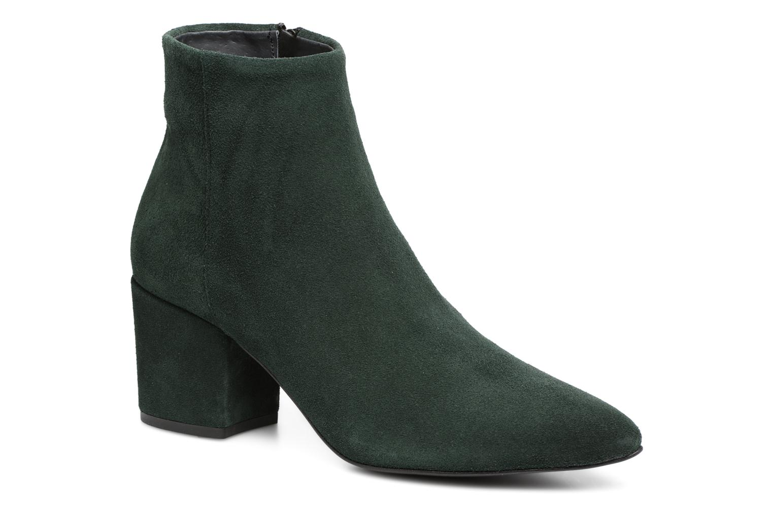 Ankle boots Vero Moda ASTRID LEATHER BOOT Green detailed view/ Pair view
