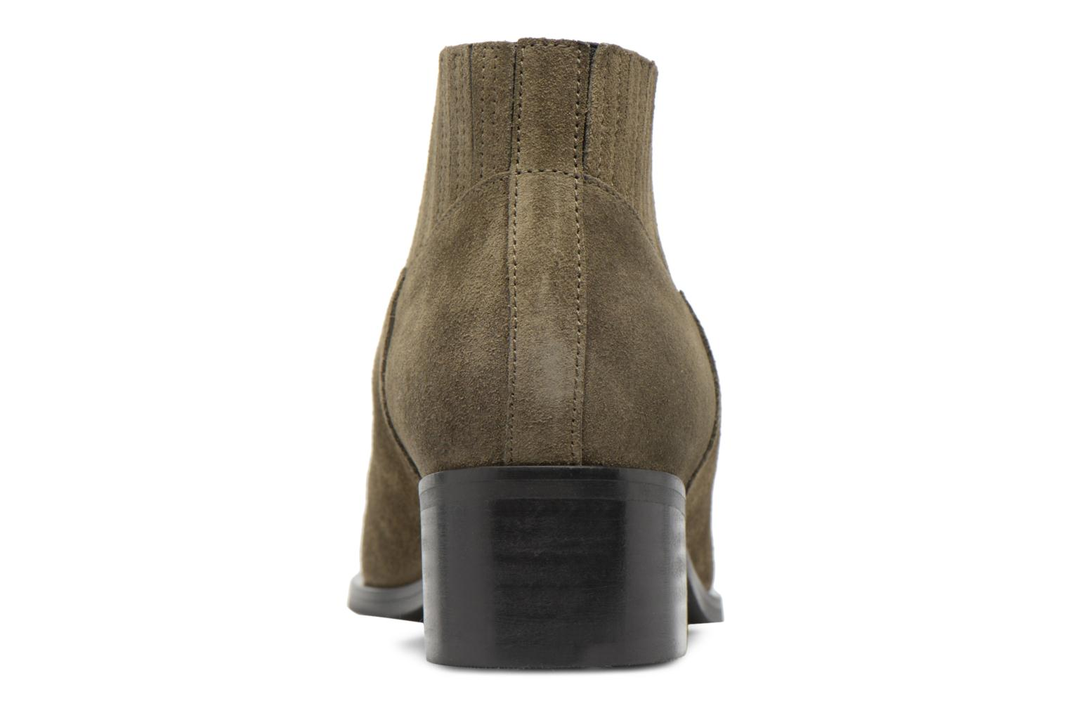 TOBIA LEATHER BOOT Dark Olive