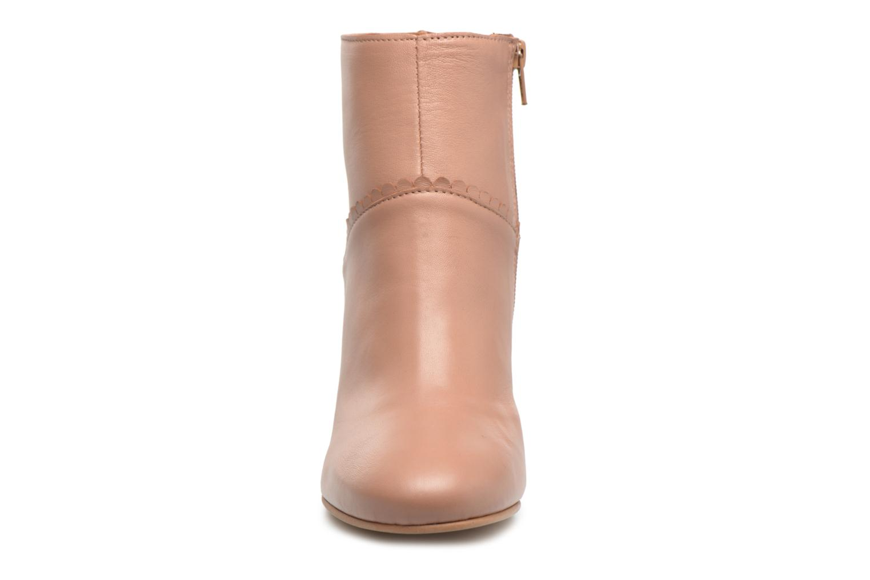 Bottines et boots Georgia Rose Halicroc Beige vue portées chaussures
