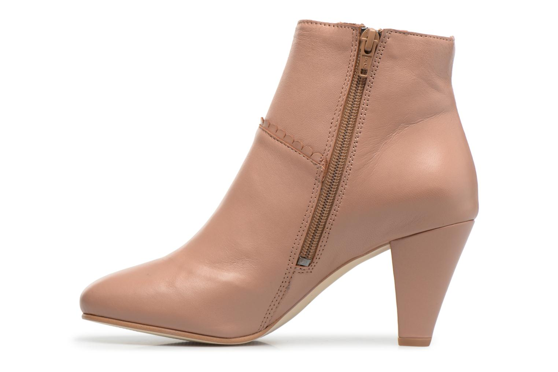 Bottines et boots Georgia Rose Halicroc Beige vue face