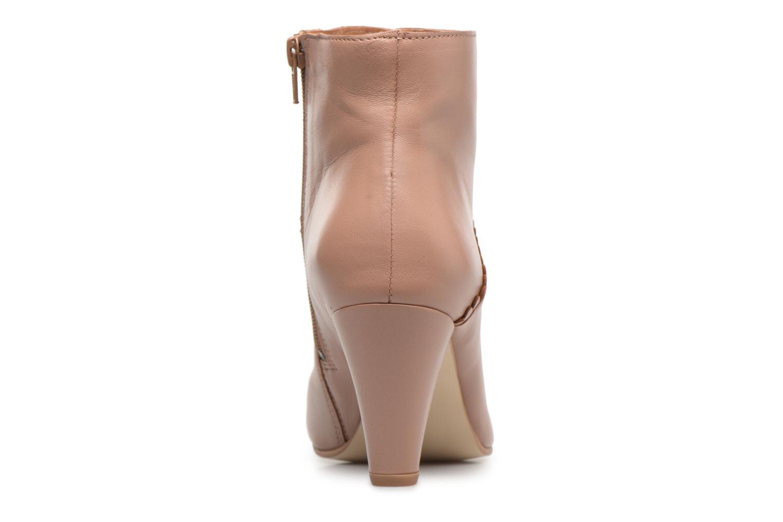 Bottines et boots Georgia Rose Halicroc Beige vue droite