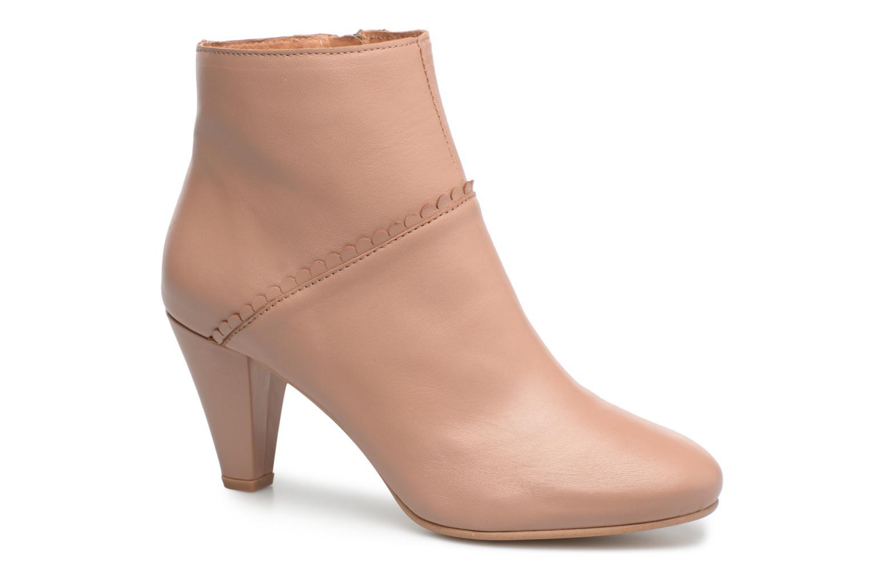 Bottines et boots Georgia Rose Halicroc Beige vue détail/paire