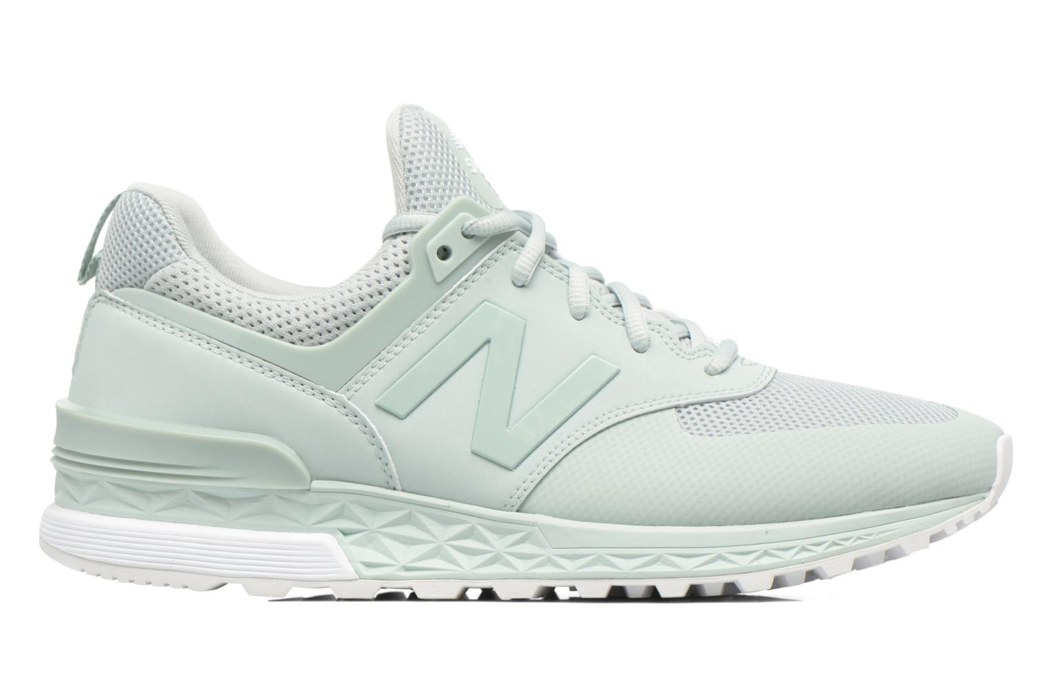 Sneakers New Balance MS574SMT-D Verde immagine posteriore