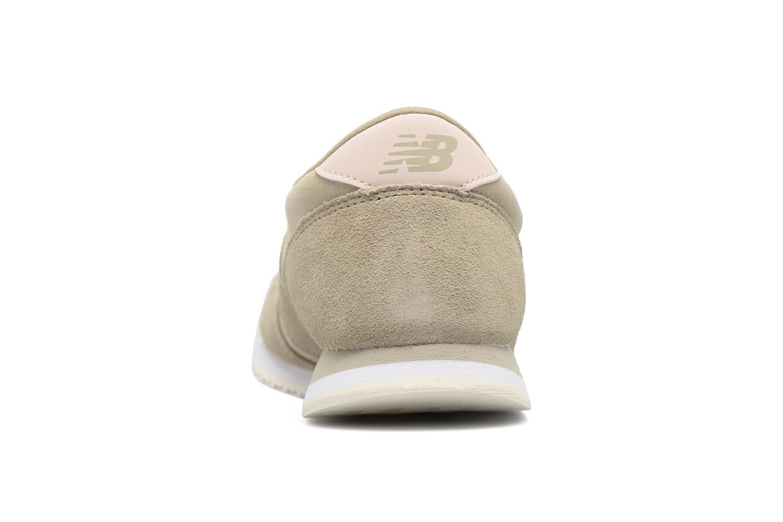 Baskets New Balance WL420MBA-B Vert vue droite