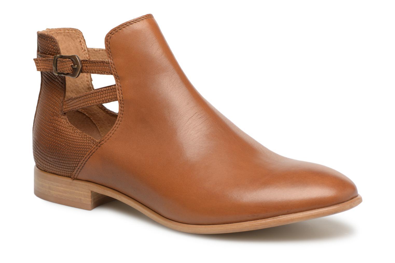 Bottines et boots Georgia Rose Anistripe Marron vue détail/paire