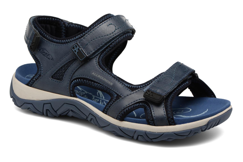 Chaussures de sport Allrounder by Mephisto Larisa Bleu vue détail/paire