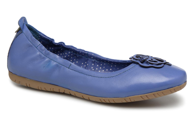 Venta de liquidación de temporada Kickers Rommy (Azul) - Bailarinas en Más cómodo