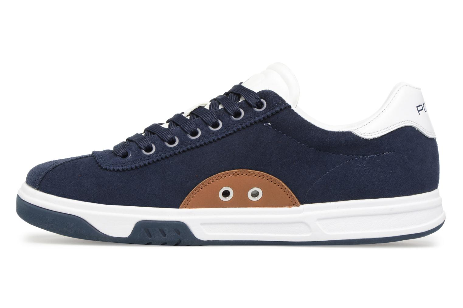 Trainers Polo Ralph Lauren Court100 Blue front view