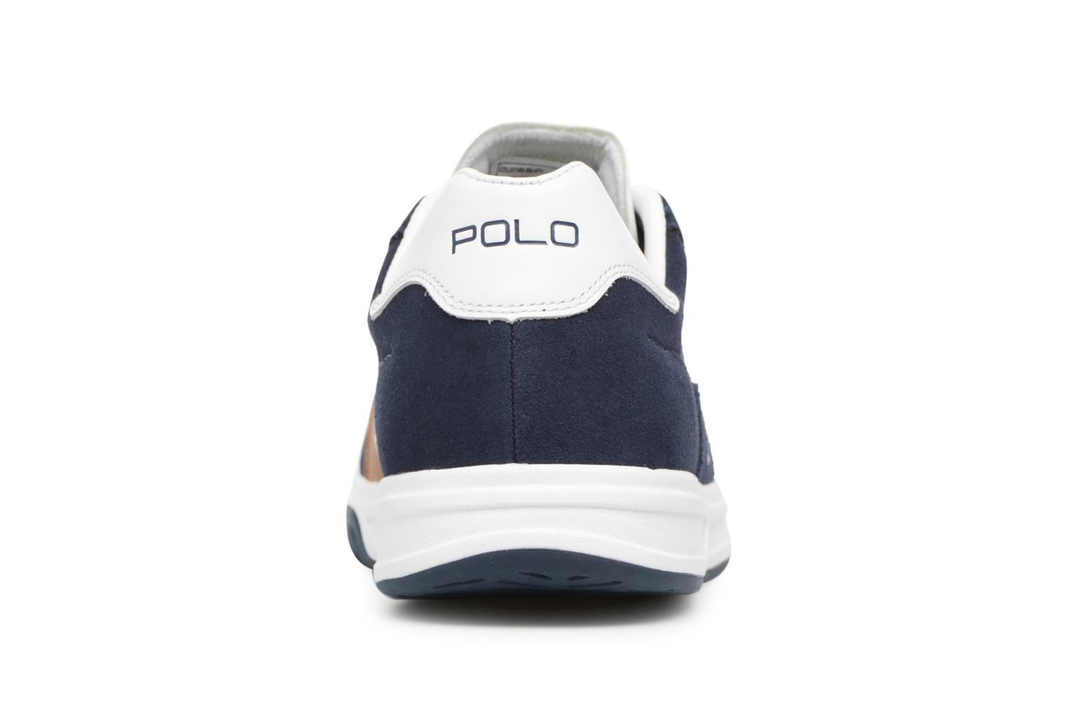 Trainers Polo Ralph Lauren Court100 Blue view from the right