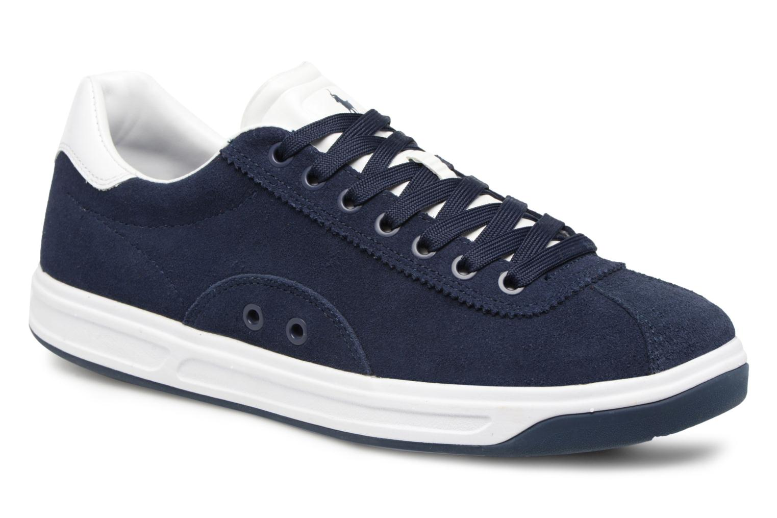 Trainers Polo Ralph Lauren Court100 Blue detailed view/ Pair view