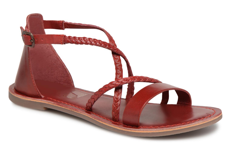 Cómodo y bien parecido Kickers Divague (Rojo) - Sandalias en Más cómodo