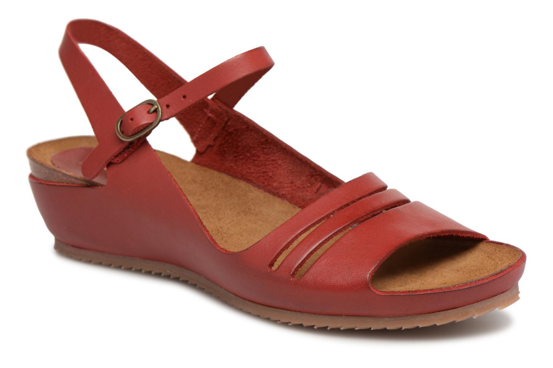 Zapatos de mujer baratos zapatos de mujer Kickers Tokimas (Rojo) - Sandalias en Más cómodo