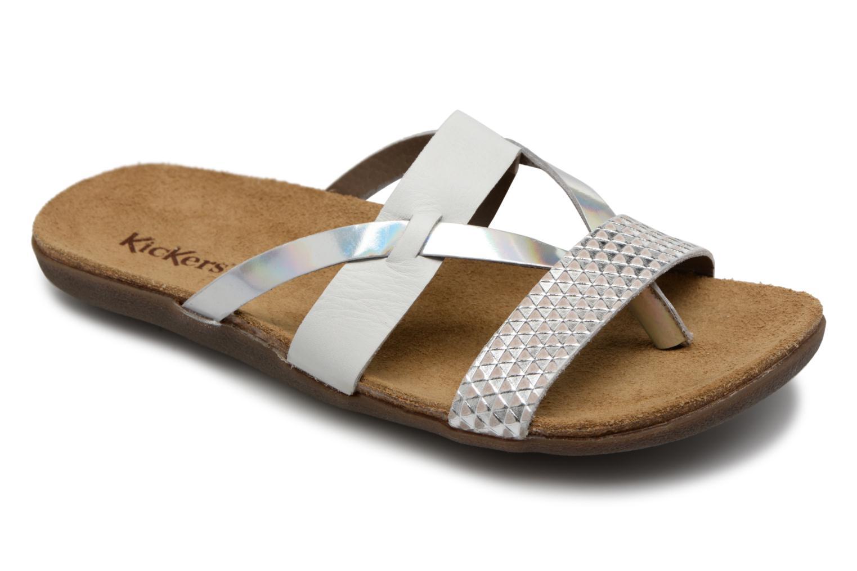 Grandes descuentos últimos zapatos Kickers Atila (Blanco) - Zuecos Descuento