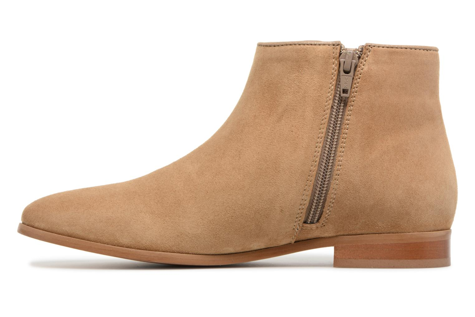 Bottines et boots Georgia Rose Stanoeud Beige vue face