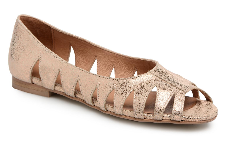 Grandes descuentos últimos zapatos Georgia Rose Escagea (Oro y bronce) - Bailarinas Descuento