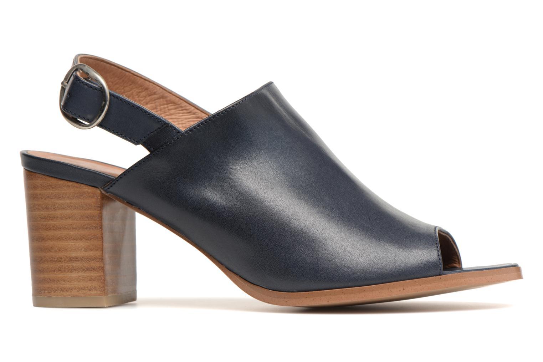 Sandales et nu-pieds Georgia Rose Ezabia Bleu vue derrière