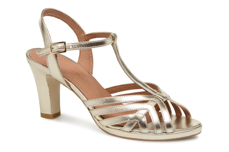 save off 09c0f 37dd7 Zapatos promocionales Georgia Rose Ebrina (Oro y bronce) - Sandalias Cómodo  y bien parecido