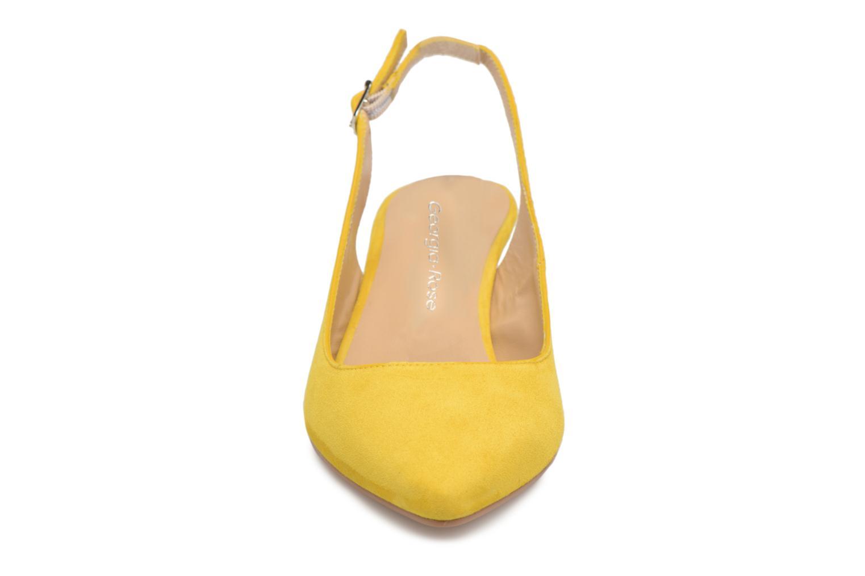 Escarpins Georgia Rose Sokit Jaune vue portées chaussures