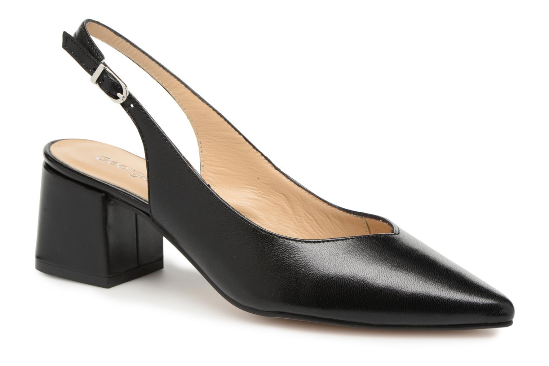 Liquidación de temporada Georgia Rose Sapointe (Negro) - Zapatos cómodo de tacón en Más cómodo Zapatos 572fd1