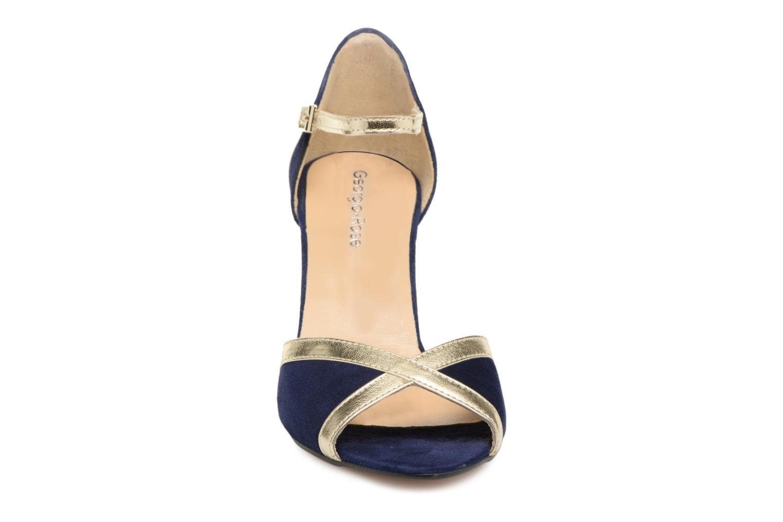 Escarpins Georgia Rose Sabiais Bleu vue portées chaussures