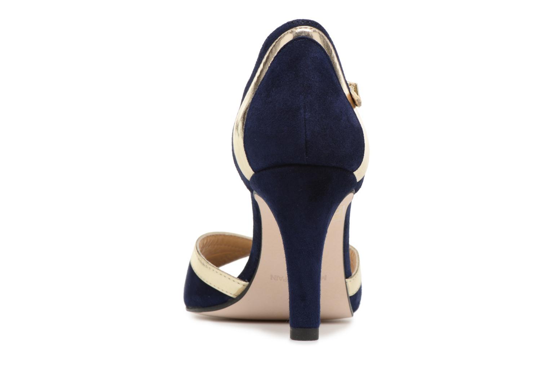 Escarpins Georgia Rose Sabiais Bleu vue droite