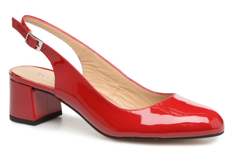Georgia Rose Solips (Rouge) - Escarpins chez Sarenza (320640)