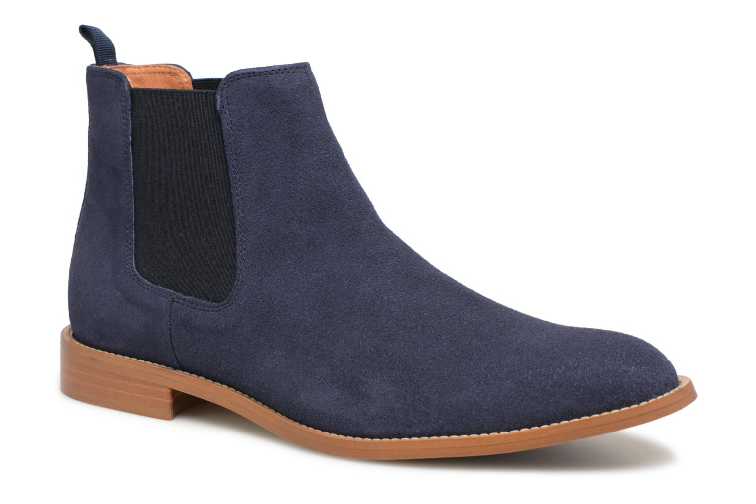 Ankle boots Mr SARENZA Rilmot Blue view from the right