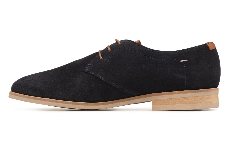 Lace-up shoes Kost Acteur 5A Blue front view