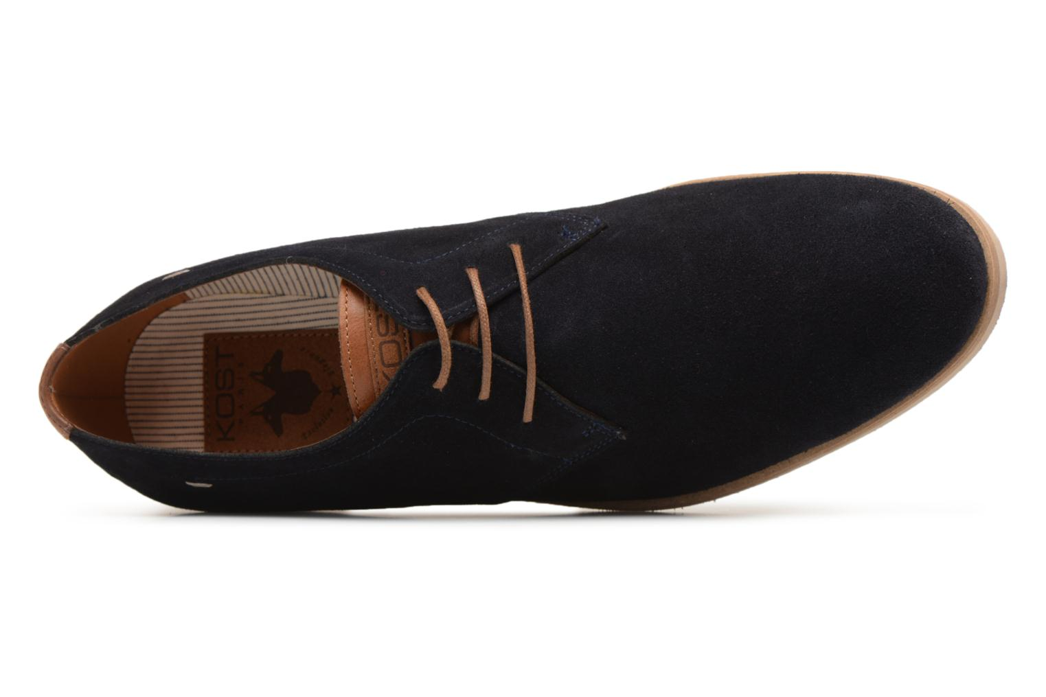 Lace-up shoes Kost Acteur 5A Blue view from the left