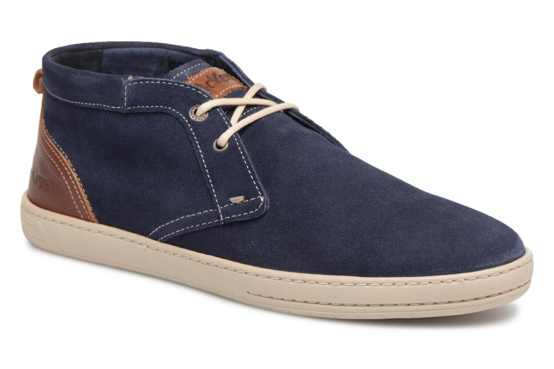 Kickers Snaper (Bleu) - Bottines et boots chez Sarenza (320830)
