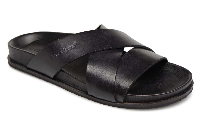 Kickers Sandola (Noir) - Sandales et nu-pieds chez Sarenza (320837)